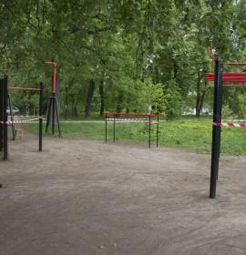 Субботник в парке Кулибина