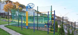 Спортивные площадки для дачи и частных домов
