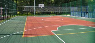 Спортивные площадки для игровых видов спорта